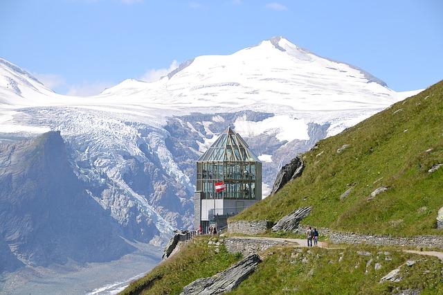 תצפית באזור הר הגרוסגלוקנר
