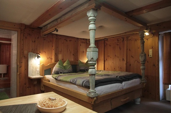 חדר בבית ההארחה דורותי
