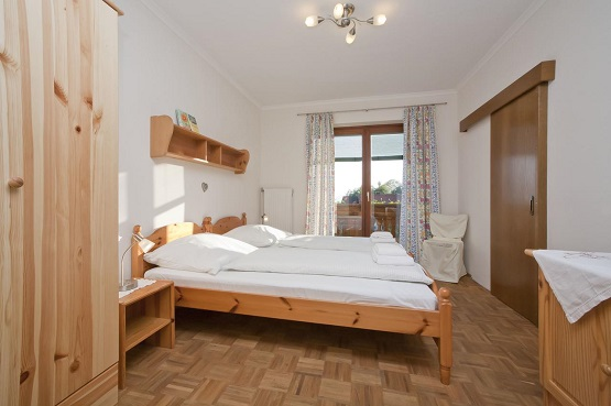 אחד מחדרי השינה בפלשינהוף