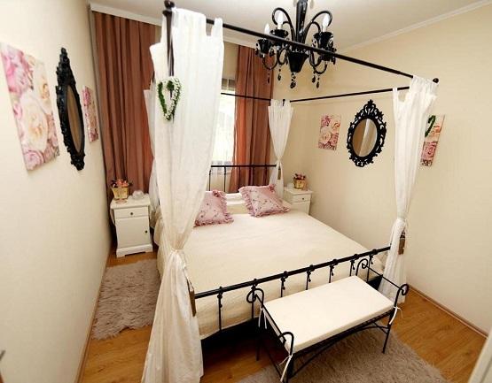 חדר בעיצוב מיוחד ב-Waldvilla Linder